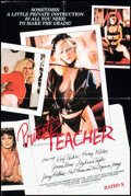 """Movie Posters:Adult, Private Teacher & Other Lot (Caballero Control, 1983). Folded, Fine/Very Fine. One Sheet (24"""" X 36"""") & Poster (24.5"""" X 33.5""""... (Total: 2 Items)"""