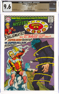 House of Mystery #168 Pacific Coast Pedigree (DC, 1967) CGC NM+ 9.6 Off-white to white pages