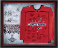 Autographs:Jerseys, 2018 Washington Capitals Signed Jersey - Stanley Cup Champions!...