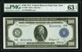 Large Size:Federal Reserve Notes, Fr. 1088 $100 1914 Federal Reserve Note PMG Choice Uncirculated 63 EPQ.. ...