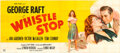 Movie Posters:Drama, Whistle Stop (United Artists, 1945). Folded, Fine+.