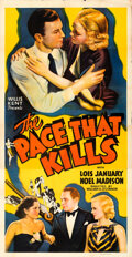 Movie Posters:Exploitation, The Pace That Kills (Willis Kent Productions, 1935). Folde...