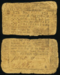 Colonial Notes:Pennsylvania, Inverted Back Pennsylvania March 10, 1757 15s Good.. ...