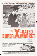 """Movie Posters:Adult, The X-Rated Supermarket & Other Lot (R.E. Novel, 1972). Folded, Fine-. One Sheets (2) (27"""" X 41""""). Adult.. ... (Total: 2 Items)"""