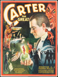 """Movie Posters:Miscellaneous, Carter the Great (1927). Fine+ on Linen. Eight Sheet (79.5"""" X 104.5""""). Miscellaneous.. ..."""
