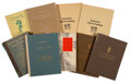 Works on Paper, A Group of C.T. Loo Catalogs and Asian Art Reference Books. 10-3/4 x 8 inches (27.3 x 20.3 cm) (largest). PRO...