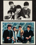 Non-Sport Cards:Lots, 1960's Foreign Beatles Trading Cards Pair (2). ... (Total: 2 items)