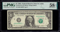Fr. 1913-H* $1 1985 Federal Reserve Star Note. PMG Choice About Unc 58 EPQ