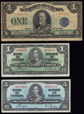Canada Group Lot of 3 Examples Fine-Very Fine