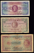 Cyprus & Malta Group Lot of 3 Examples Fine-Very Fine