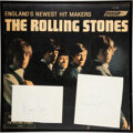 Music Memorabilia:Autographs and Signed Items, Mick Jagger and Brian Jones Signatures Attached to Rolling...