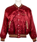Music Memorabilia:Costumes, Canned Heat Tour Jacket Made for Bassist Richard Hite