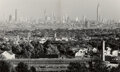 Photographs, Andreas Feininger (French/American, 1906-1999). New York Skyline, Seen From Great Notch Mountain (diptych), 1941. Gelati...