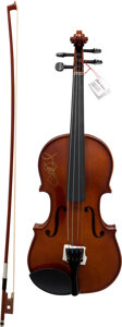 Musical Instruments:Violins & Orchestra, Charlie Daniels Signed Palatino Fiddle. . ...
