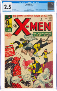 X-Men #1 (Marvel, 1963) CGC GD+ 2.5 Cream to off-white pages
