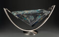 Glass, Jon Kuhn (American, b. 1949). Heaven Bound, 2000. Glass, stainless steel. 14-3/4 x 29-3/4 inches (37.5 x 75.6 cm)(overal...