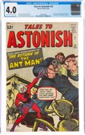 Silver Age (1956-1969):Superhero, Tales to Astonish #35 (Marvel, 1962) CGC VG 4.0 Cream to off-white pages....
