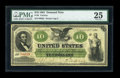 Large Size:Demand Notes, Fr. 6 $10 1861 Demand Note PMG Very Fine 25....