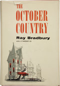 Books:First Editions, Ray Bradbury. The October Country. New York: BallentineBook, [1955]. . ...