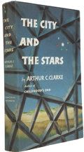 Books:Signed Editions, Arthur C. Clarke. The City and the Stars....