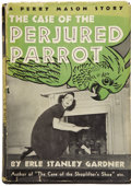 Books:First Editions, Erle Stanley Gardner. The Case of the Perjured Parrot....