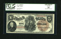 Large Size:Legal Tender Notes, Fr. 72 $5 1880 Legal Tender PMG Apparent Very Fine 35....