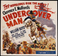 "Movie Posters:Western, Undercover Man (United Artists, 1942). Six Sheet (81"" X 81""). Western...."
