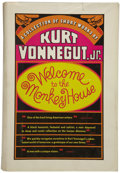 Books:First Editions, Kurt Vonnegut, Jr. Welcome to the Monkey House....