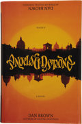 Books:First Editions, Dan Brown. Angels & Demons....