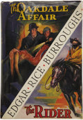 Books:First Editions, Edgar Rice Burroughs. The Oakdale Affair/The Rider....