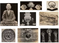A Group of Thirty C.T. Loo Photographs 9-3/4 x 7-3/4 inches (24.8 x 19.7 cm) (largest)  PROVENANCE: C.T