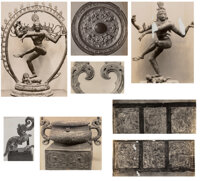 A Group of Thirty C.T. Loo Photographs Marks: Stamp to reverse of one example 10-1/2 x 7-1/2 inches (26.7 x 19