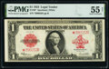 Fr. 40* $1 1923 Legal Tender Star PMG About Uncirculated 55 Net