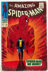 The Amazing Spider-Man #50 (Marvel, 1967) Condition: GD