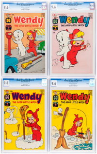 Wendy, the Good Little Witch File Copies Group of 4 (Harvey, 1963-64) CGC NM+ 9.6.... (Total: 4 Comic Books)