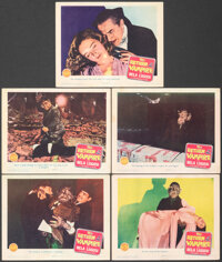 """The Return of the Vampire (Columbia, 1943). Fine+. Lobby Cards (5) (11"""" X 14""""). Horror. ... (Total: 5 Items)"""