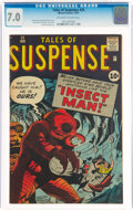 Silver Age (1956-1969):Horror, Tales of Suspense #24 (Marvel, 1961) CGC FN/VF 7.0 Off-white to white pages....