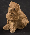 Miscellaneous:Other, Small Seated Dog. ...