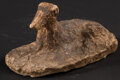 Miscellaneous:Other, Dog Lying in a Sphinx-Like Pose. ...