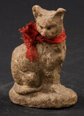 Miscellaneous:Other, A Cute Cat With its Original Ribbon. ...