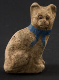 Miscellaneous:Other, Small Cat Figurine Enhanced at a Later Date. ...