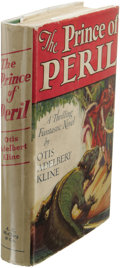 Books:First Editions, Otis Adelbert Kline: The Prince of Peril. (Chicago: McClurg,1930), first edition, 322 pages, cover design by Robert Gra...