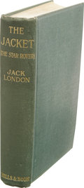 Books:First Editions, Jack London: The Jacket (The Star Rover). (London: Mills& Boon, Limited, 1915), first English edition, 333 pages,color...