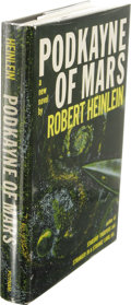 Books:First Editions, Robert Heinlein: Podkayne of Mars. (New York: G. P. Putnam'sSons, 1963), first edition, 191 pages, jacket design by Irv...