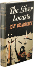 Books:First Editions, Ray Bradbury: The Silver Locusts. (London: RupertHart-Davis, 1951), first edition, 232 pages, light gray cloth withsil...