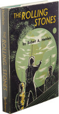 "Books:First Editions, Robert A. Heinlein: The Rolling Stones. (New York:Scribner's Sons, 1952), first edition, first printing (the letter""A""..."