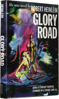 Books:First Editions, Robert A. Heinlein: Glory Road. (New York, G.P. Putnam'sSons, 1963), first edition, 288 pages, black cloth with aqua le...