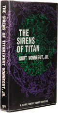 Books:First Editions, Kurt Vonnegut, Jr.: The Sirens of Titan. (Boston: HoughtonMifflin Company, 1961), first hardcover edition, first printi...