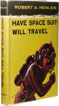 Books:First Editions, Robert A. Heinlein: Have Space Suit Will Travel. (New York: Charles Scribner's Sons, 1958), first edition (A.9-58[mj]), ...