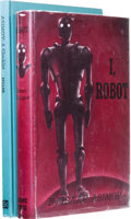 Books:First Editions, Isaac Asimov: I, Robot. (New York: Gnome Press, 1950), firstedition, 253 pages, jacket design by Edd Cartier, red board...(Total: 2 )